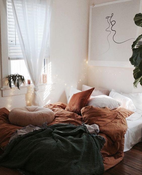 Photo of 25 Wege Um Gemütlich Ihr Schlafzimmer Für Den Herbst   Mobelkunst.com
