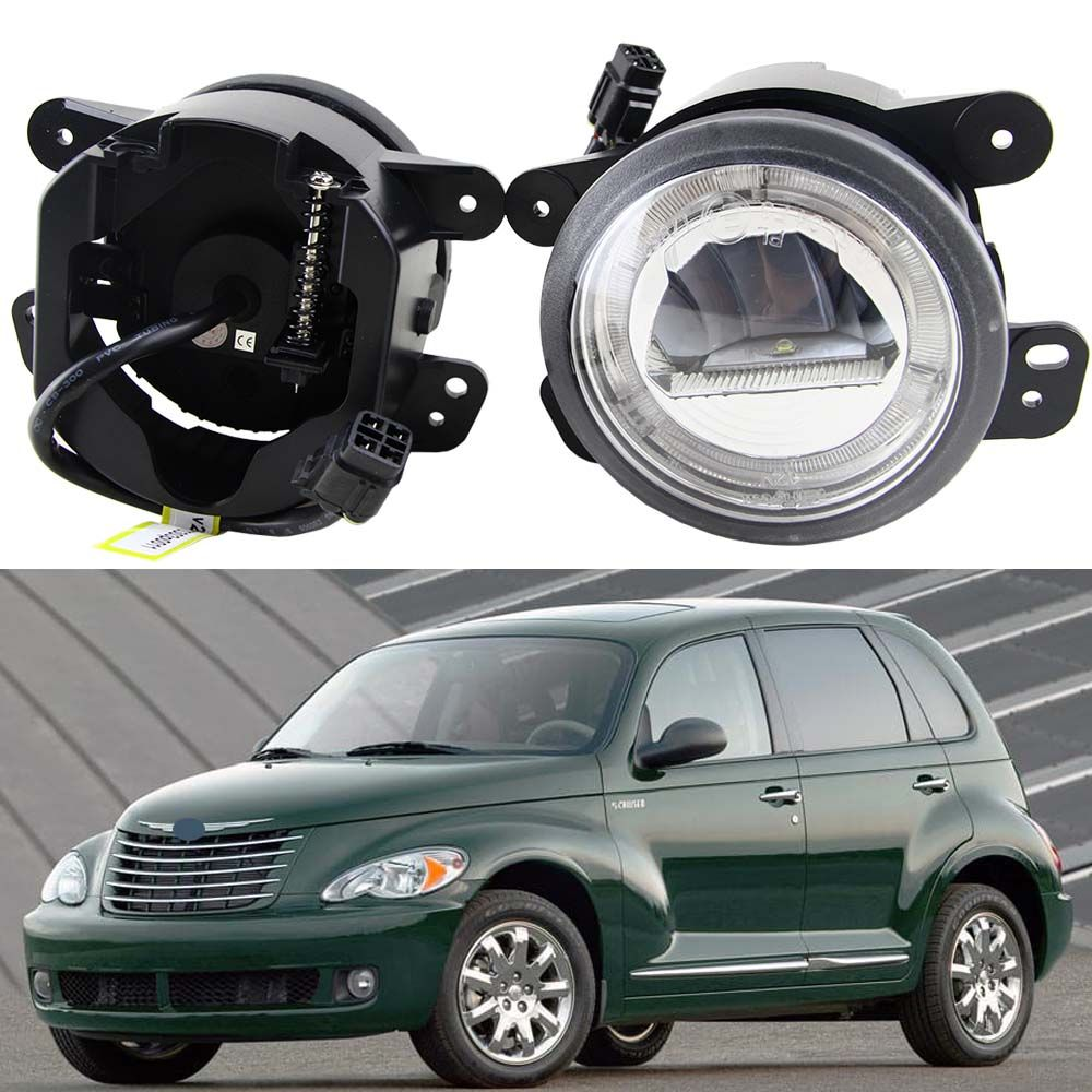 2x Led Fog Lights Auto Driving Lamp For Jeep Wrangler 07 09 Dodge