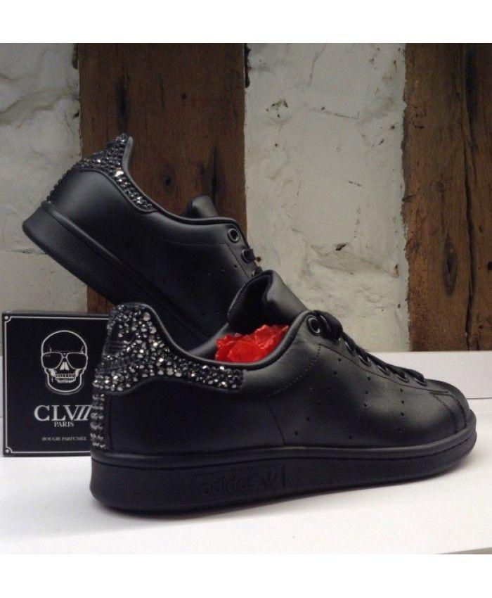 Adidas Stan Smith Noir Paillette | Adidas noir, Adidas stan