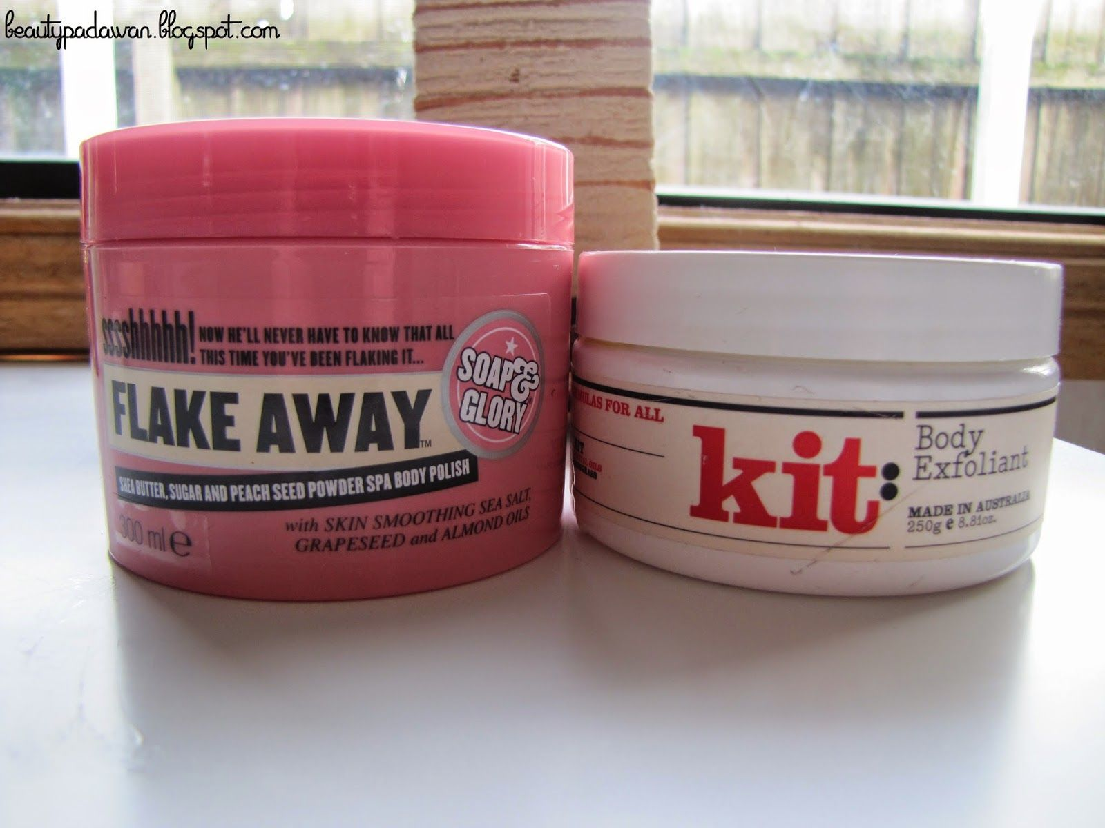 Compare the Pair: Kit Cosmetic's Body Exfoliant vs. Soap