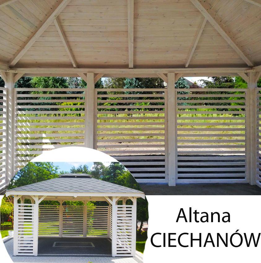 Altanka 3x4 Altanki Altana Drewniana Ogrodowa Wiat