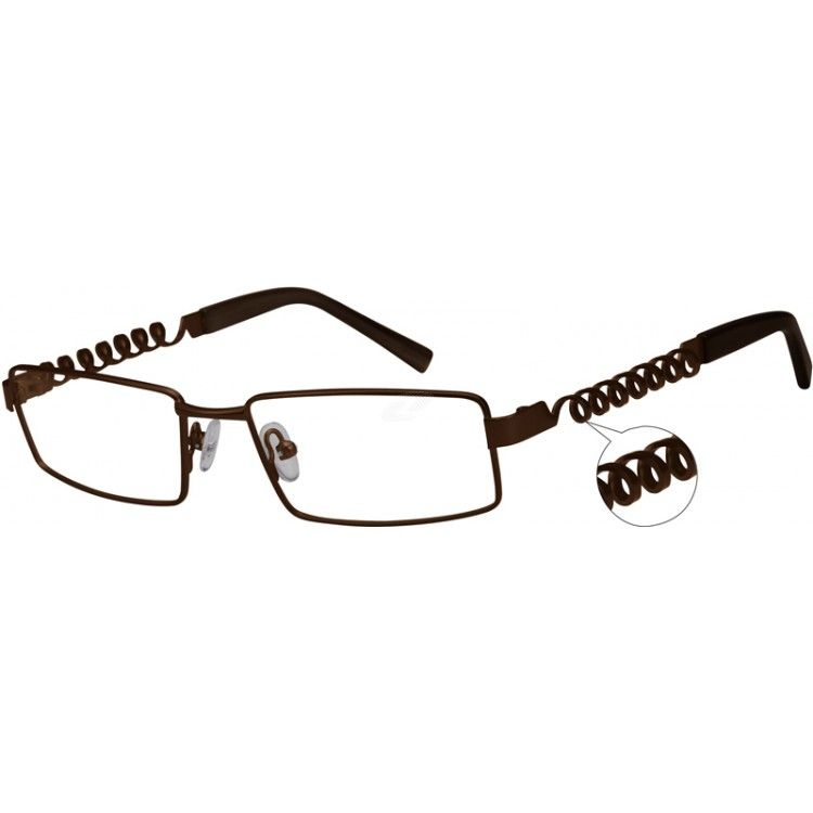 Sale, 50% off! Originally $29.95, now only $14.98.   A medium size, full-rim hypoallergenic stainless steel frame with sp...Price - $14.98