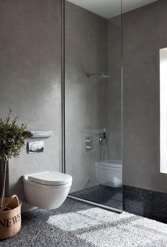 la salle de bain avec douche italienne 53 photos - Sol Salle De Bain Pas Cher