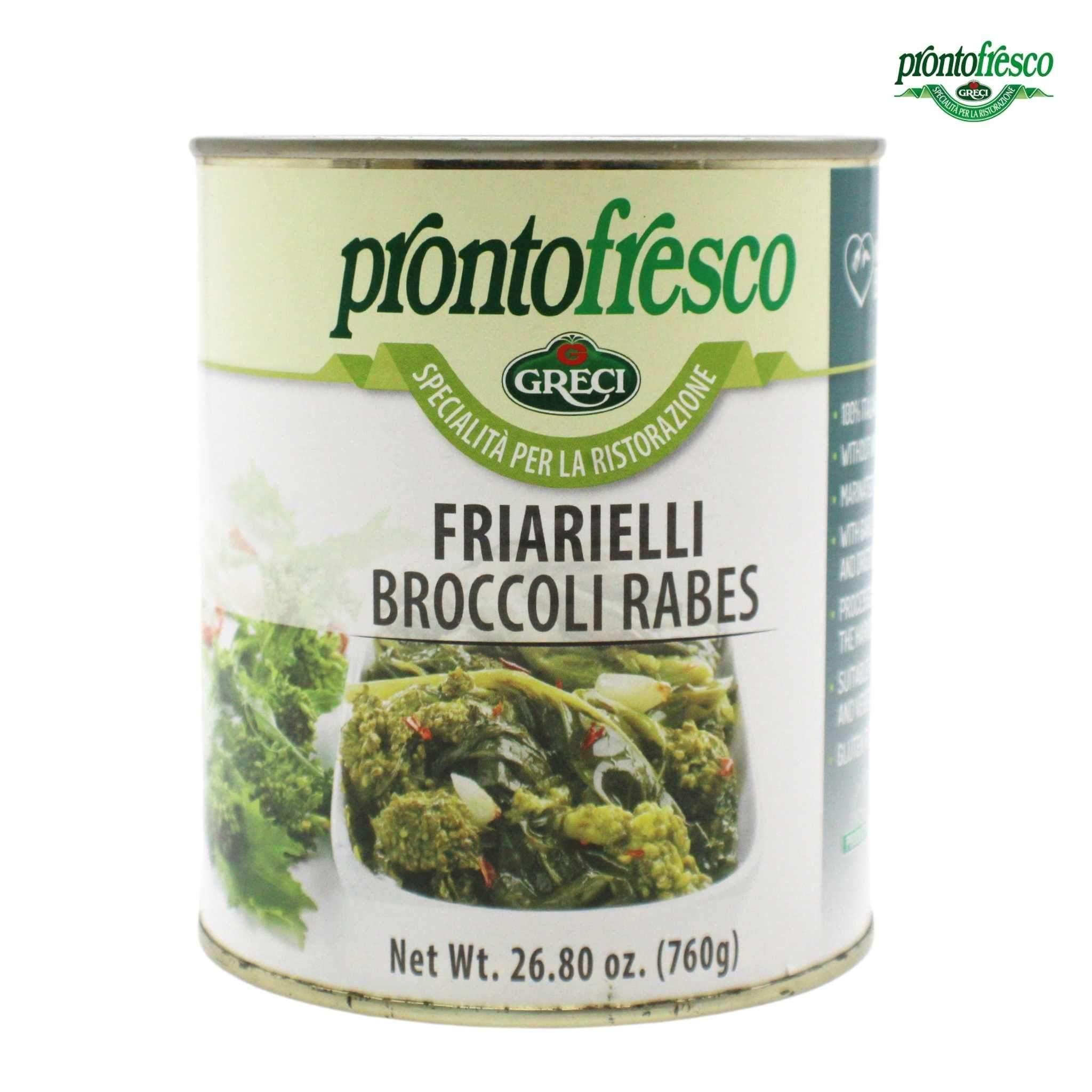 Greci / Pronto Friarielli in Öl (1,7 lbs. | 760 g) – EINZELDOSEN (1,7 lbs. | 760 g) 11,03 € EINHEIT