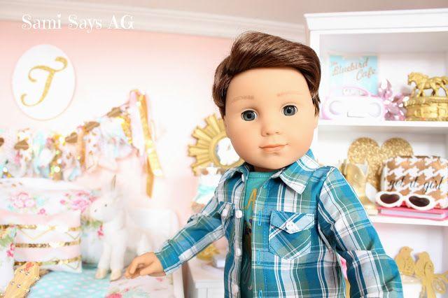 Logan Everett- Sami Says AG-- American Girl Tenney Grant's Doll House Room