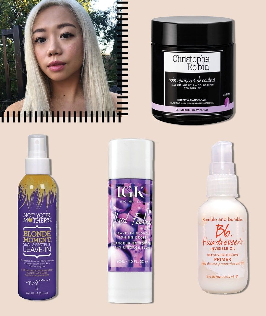 The Best Products for Maintaining Platinum Blonde Hair in
