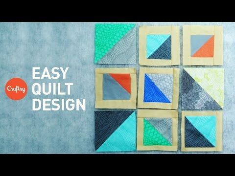 How to Design a Quilt: No Pattern Needed! | Quilting Tutorial ... : how to design a quilt - Adamdwight.com