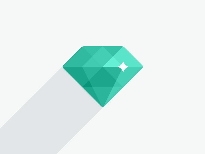 Flat UI Logo Evolution by Sergey Shmidt