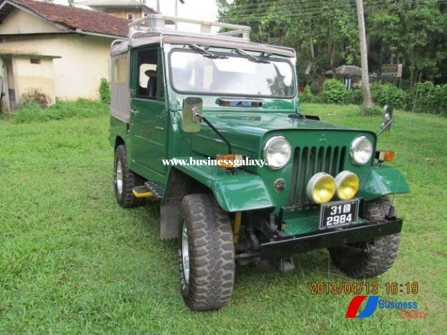 Mitsubishi 4dr5 J24 1979 Bg281416 Standerd Jeep Restored To The Original Condition Registered Owner A C Alloy Wheels Maxis Broad Tyres Eligent Luggage Car