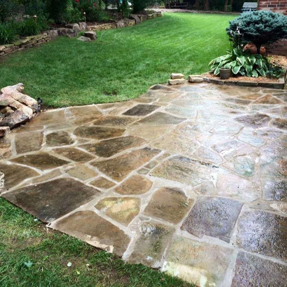 Hardscaping Services In Edmond Hardscape Healthy Landscape Retaining Wall