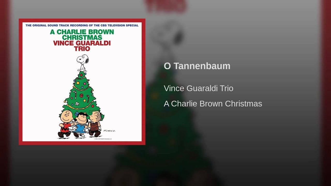 Youtube Charlie Brown Christmas Music.O Tannenbaum It S All About Kathy Merry And Mellie