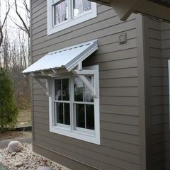 Contemporary Entry By Image Design Llc Roof Awnings And Overhangs General Roofing Systems