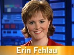 Erin Fehlau, news anchor. Click on picture to view bio.