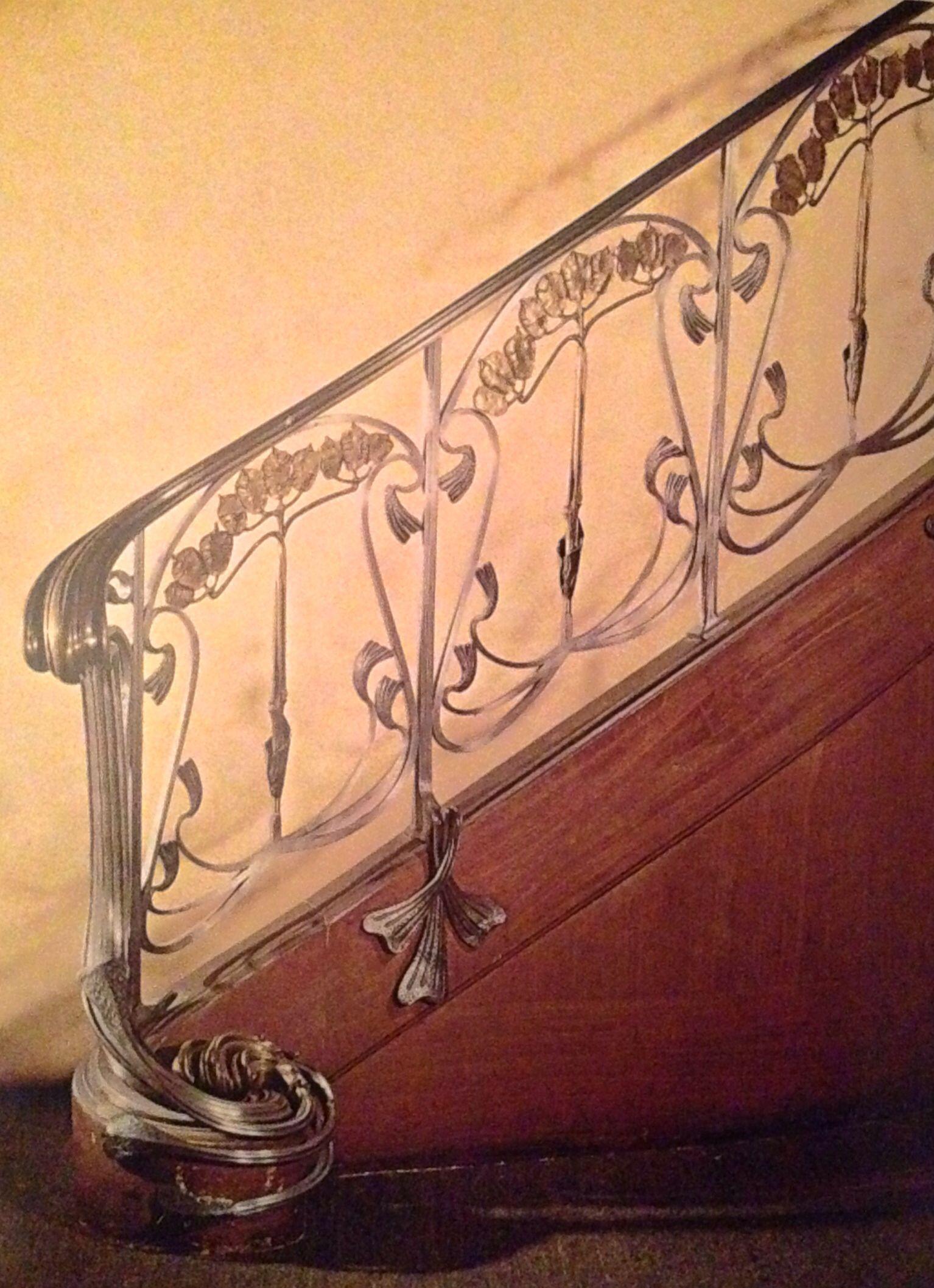 Art Nouveau Staircase Jugendstil