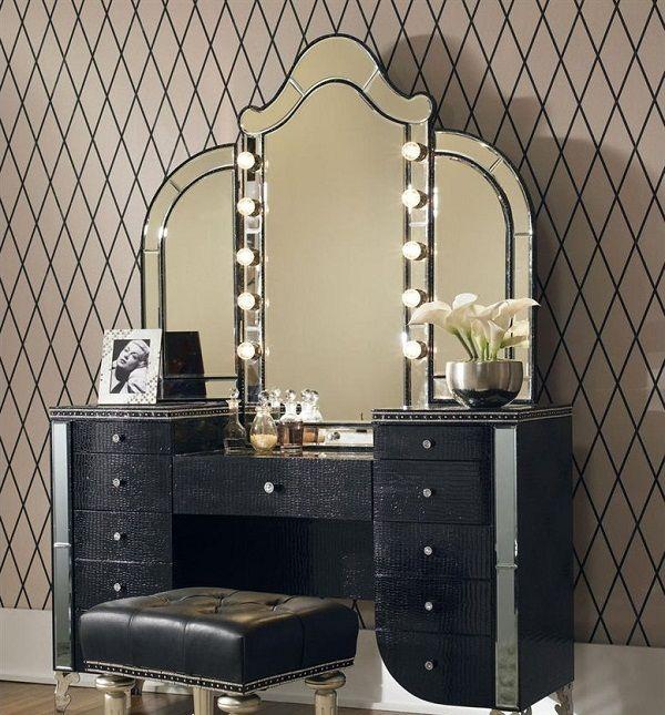 16 Gorgeous Vintage Make Up Vanity Design Ideas Hollywood Swank Bedroom Vanity Vintage Makeup Vanities
