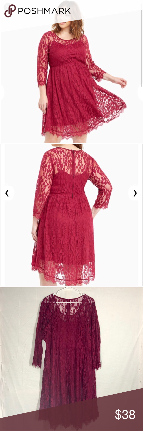 Lace dress torrid  Torrid Floral Lace Dress  My Posh Picks  Pinterest  Floral lace