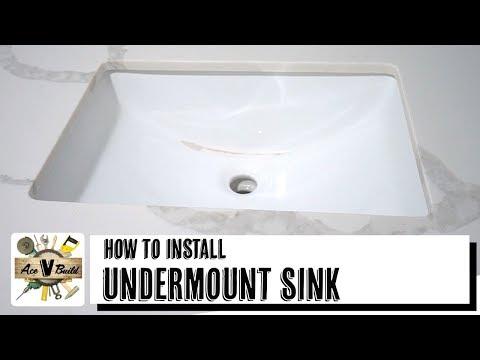 Undermount Sink Installation Fast Easy Way To Install Undermount Sink Youtube In 2021 Undermount Sink Sink Sink Diy How to install undermount bathroom sink