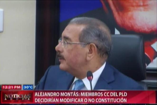 Alejandro Montás: Depende Del Comité Central Si Modificar La Constitución #Video