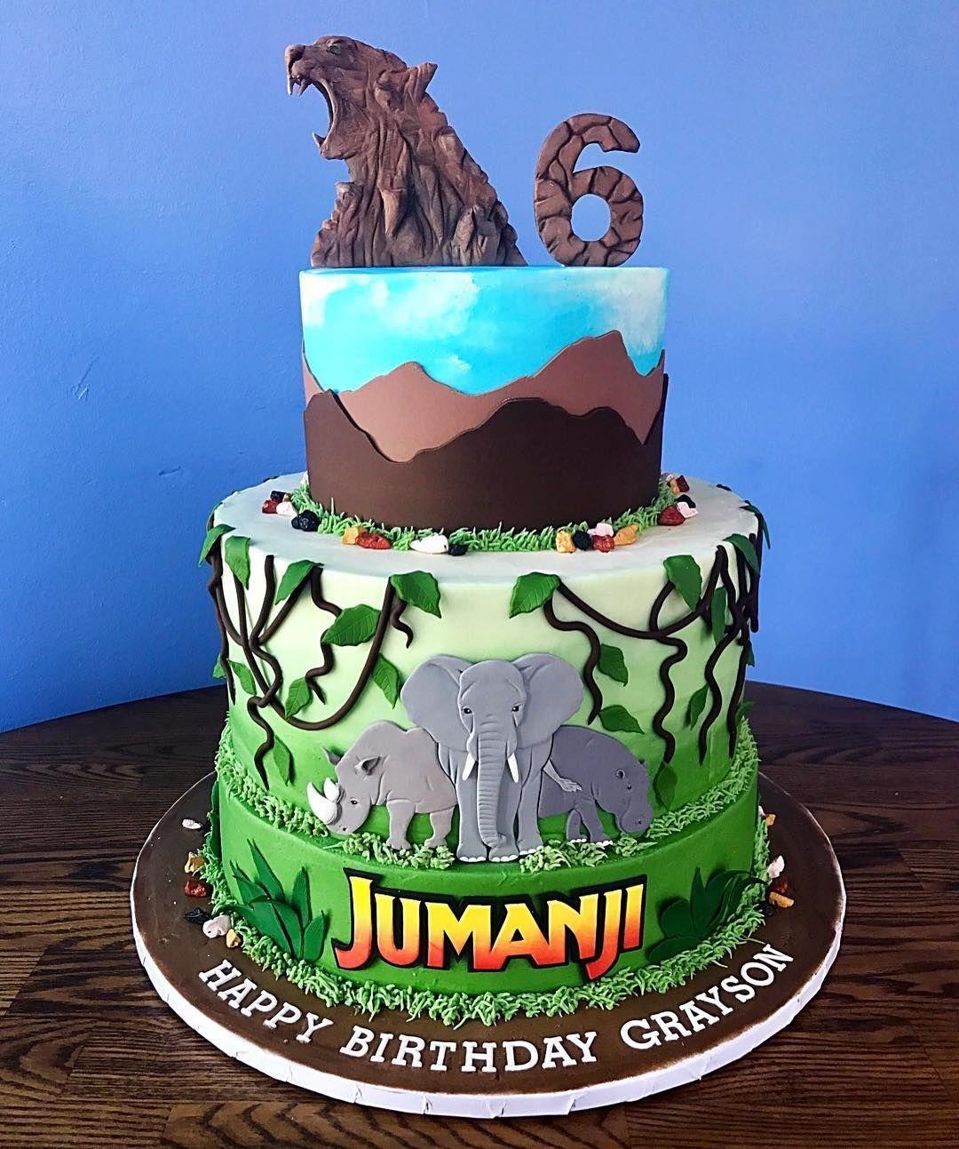 Jumanji Birthday Cake Google Search Birthday Party Cake Wild Kratts Birthday Party Cake