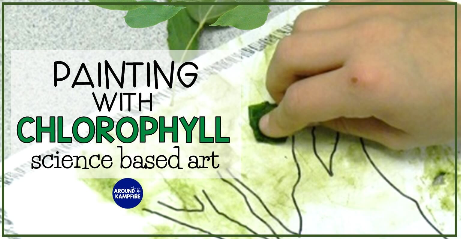 Chlorophyll Paintings Incorporating Art In Science