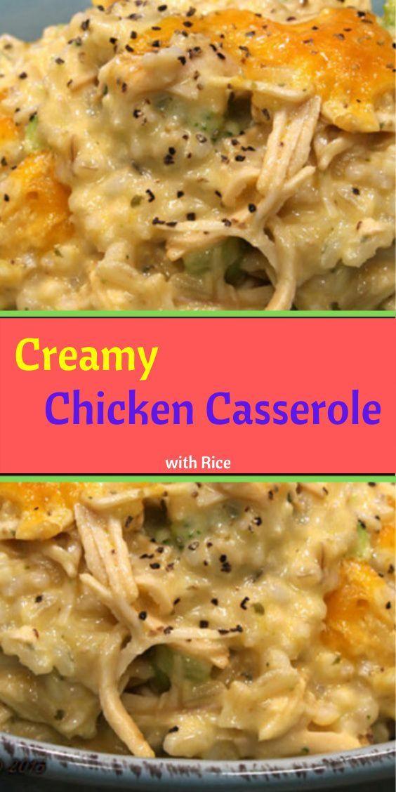 Tasty Chicken Casserile with Rice