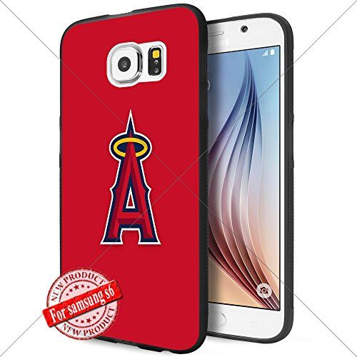 Los Angeles Angels MLB Baseball Logo WADE8354 Samsung s6 Case Protection Black Rubber Cover Protector WADE CASE http://www.amazon.com/dp/B0172A38CW/ref=cm_sw_r_pi_dp_chmnwb1MPEPN8