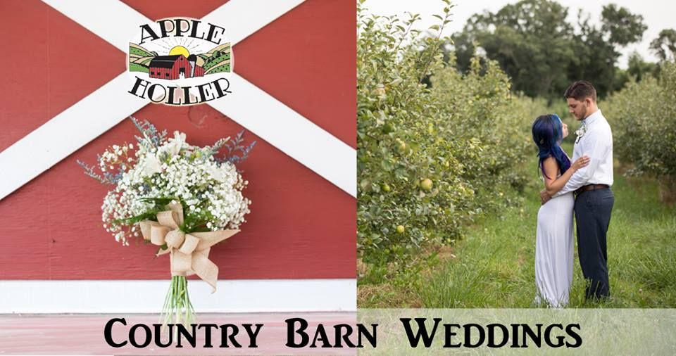 Apple Holler's Country Barn Weddings Wedding Ideas