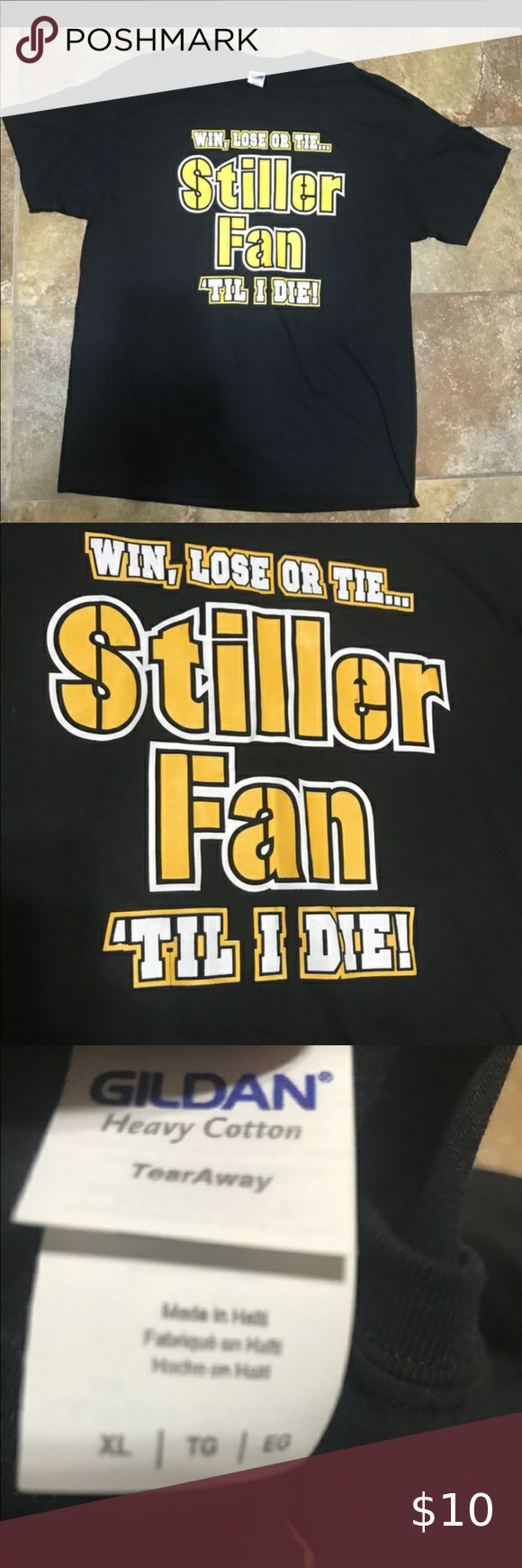 PITTSBURGH STEELERS STILLER FAN TIL I DIE T SHIRT in 2020