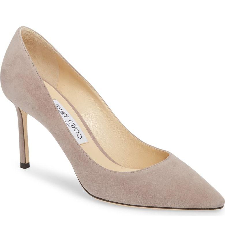 Jimmy Choo Pink Suede Anouk Heels W Dust Bag Jimmy Choo Pumps Jimmy Choo Shoes Heels Jimmy Choo Heels