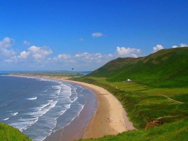 Rhossili bay, Swansea - Regno Unito