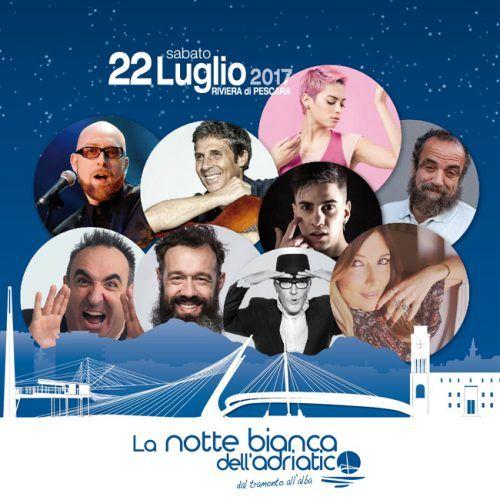 Pescara presentata la terza edizione della Notte Bianca dellAdriatico