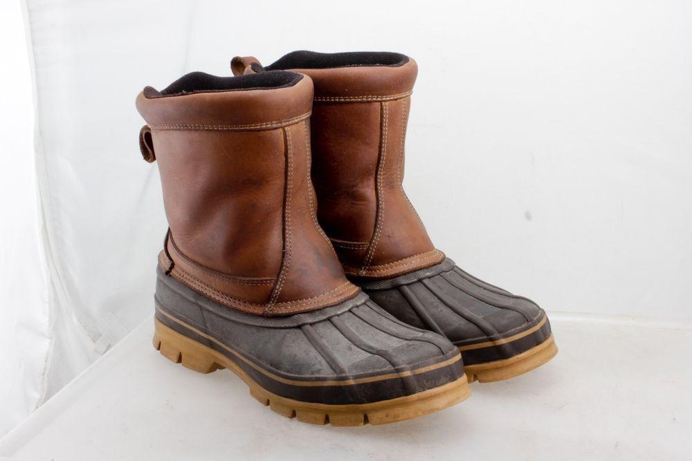 Duck boots mens, Boots men, Boots