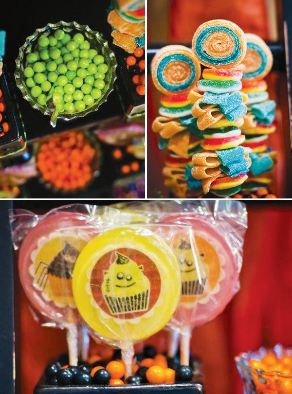 Friendly Little Monster Cupcakery {Kids Halloween Party}   Hostess - kids halloween party ideas