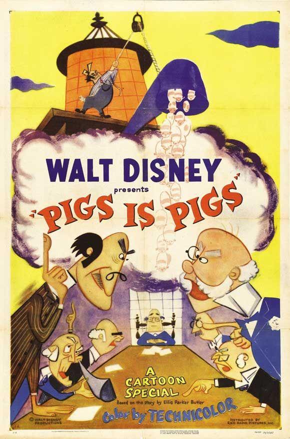 Pigs Is Pigs in 2020 Disney movie posters, Disney