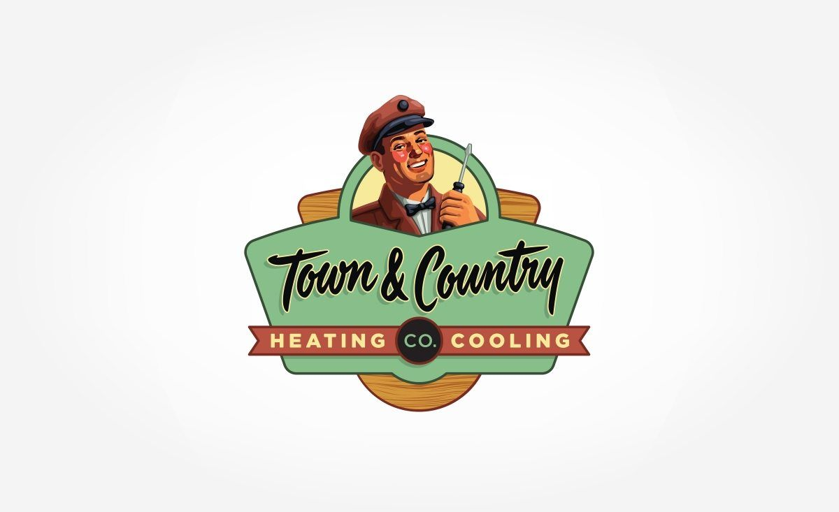 Vintage Logo Design In A 50 S Illustrative Style Posterized For