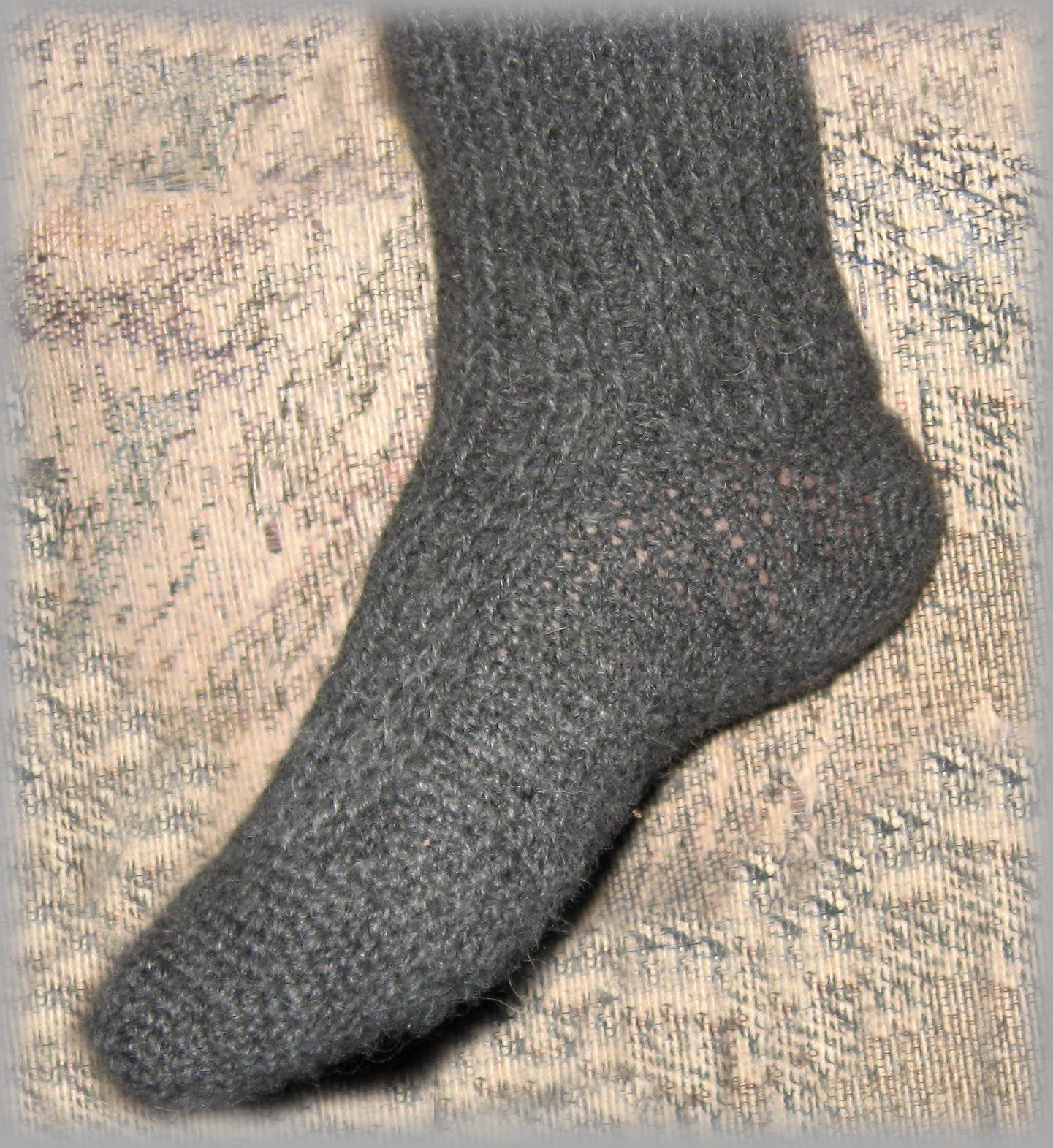 crochet husband socks