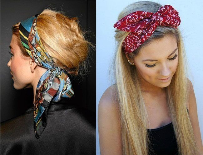 13 bandana haarband frisuren pinterest haarband selber machen frisuren mit haarband und. Black Bedroom Furniture Sets. Home Design Ideas