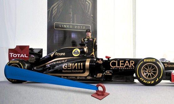 'Angry Birds' sling for Kimi Räikkönen's car.