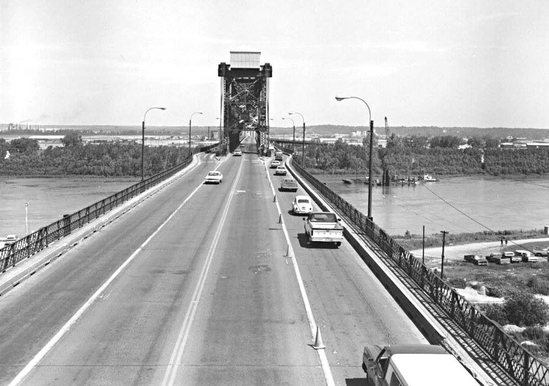 Asb Bridge 1960 70s Kansas City Downtown City Pictures