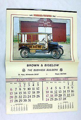 Vintage 1985 2019 Workhorses Of Yesteryear Classic Trucks Calendar