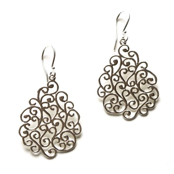 Sterling Silver Southern Gates Earrings Charleston