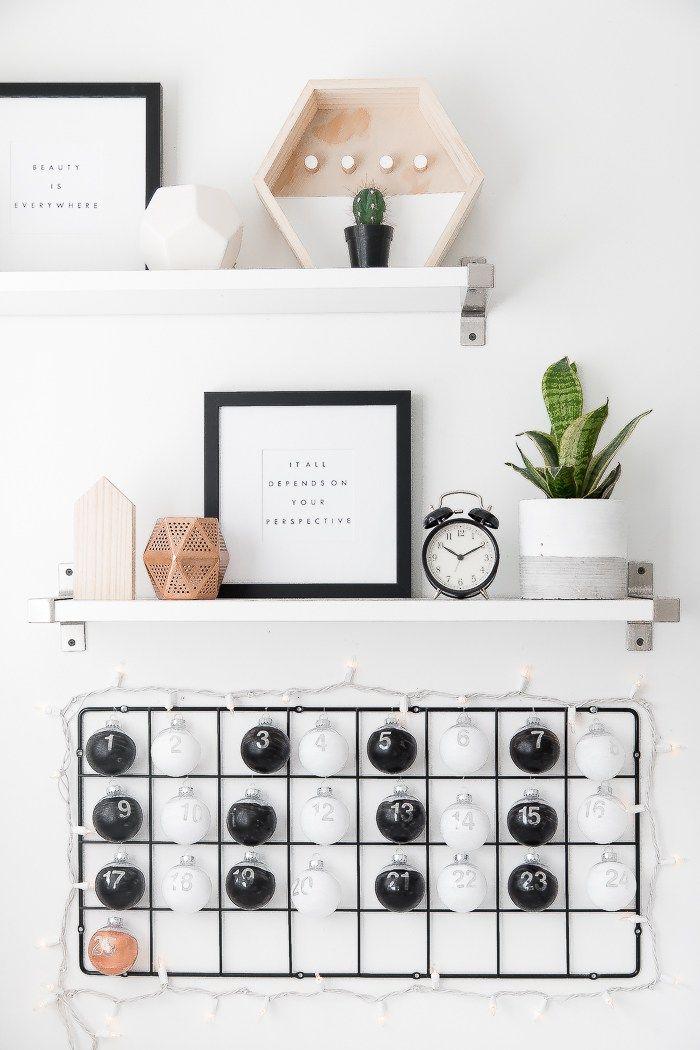 DIY IKEA Hack Advent Calendar   Ikea hack, Diy ikea hacks