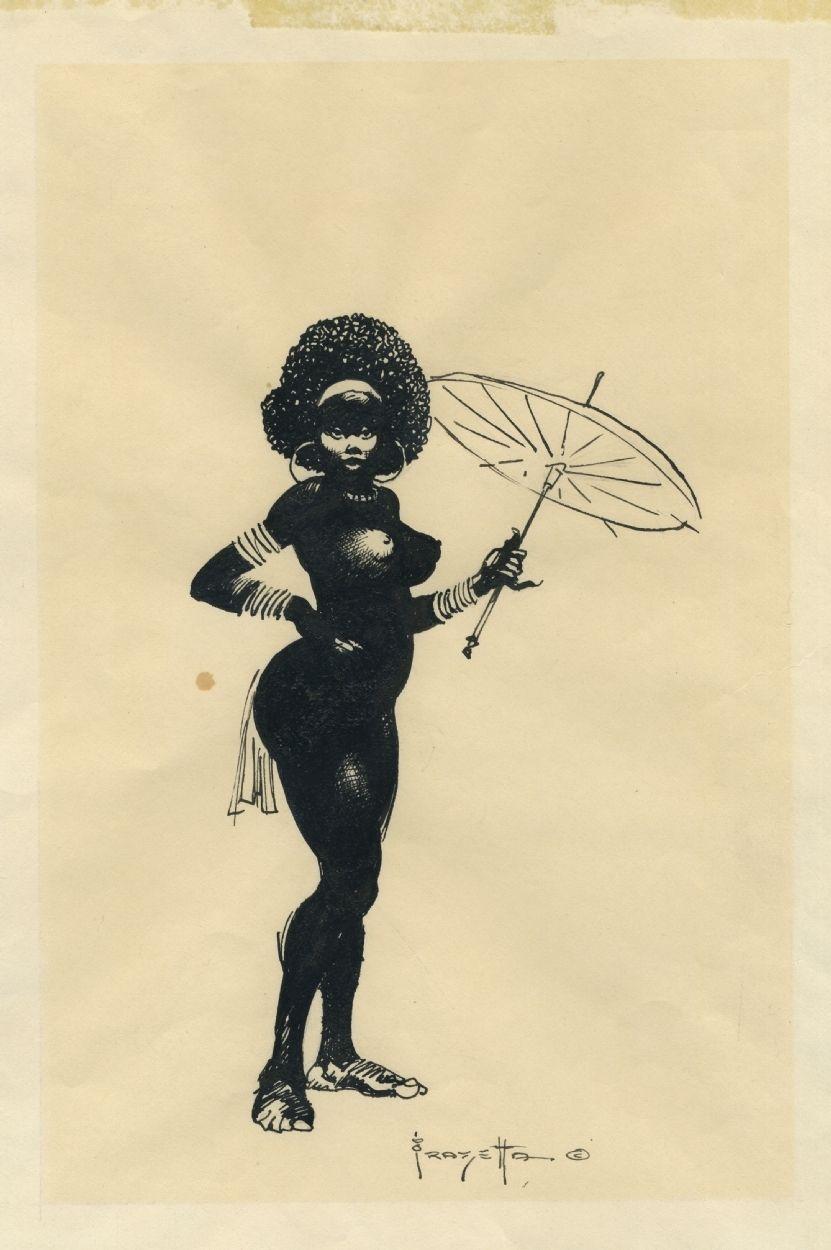 Erotic fantasy art frank frazetta-30591