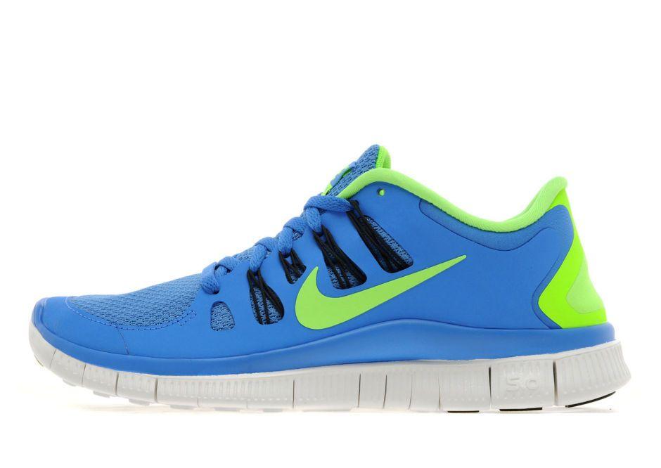 Nike NIKE FREE 5.0 (GS) GAME ROYALBLK(WHITE) online kaufen