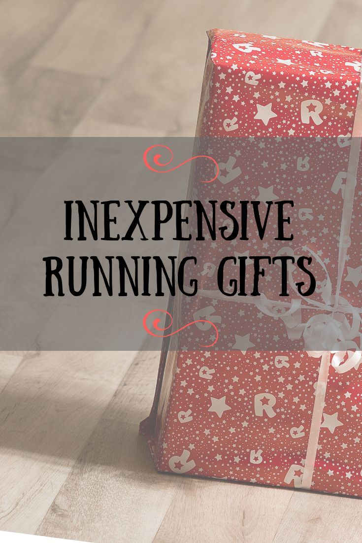 Inexpensive running gifts run for good running gifts