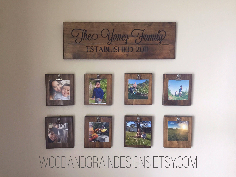 Photo Displays On Walls