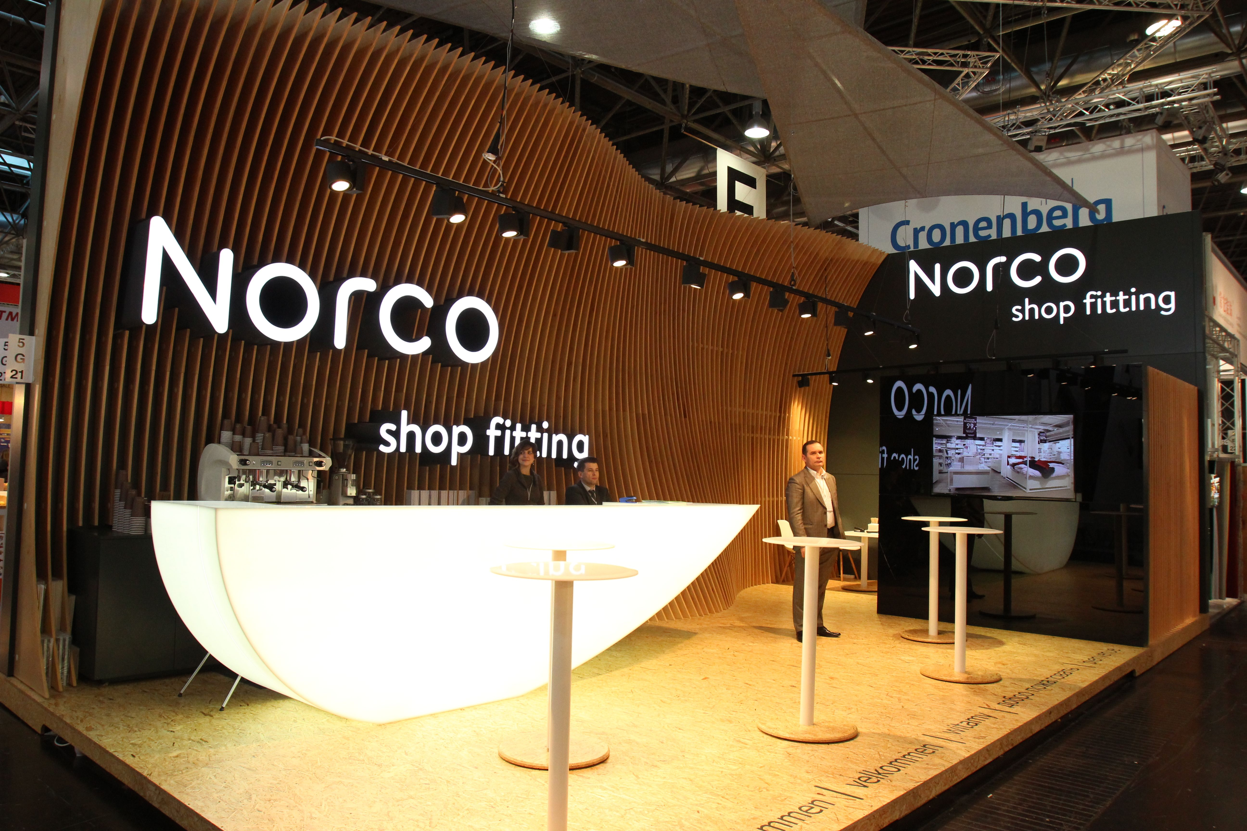 Exhibition Stand Fittings : Norco shop fitting at euroshop exhibition stands