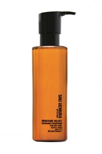 Shu Uemura Art of Hair Moisture Velvet Nourishing Conditioner, $58, available at Shu Uemura.