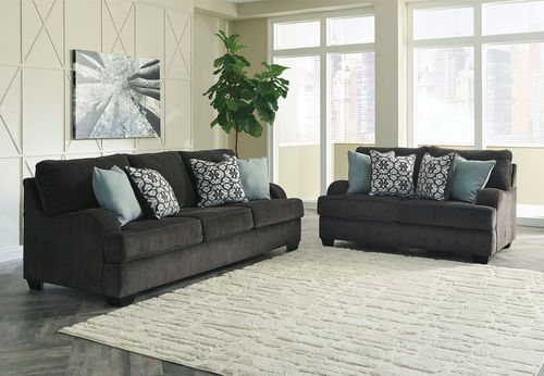 Ashley Charenton Charcoal Sofa Amp Loveseat Products In