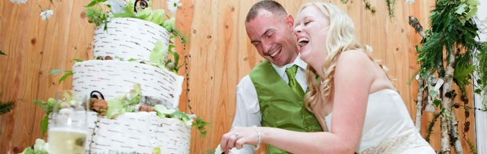 Hilltop wedding gazebo by Anderson Lodge